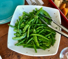 Green beans with mustard seed