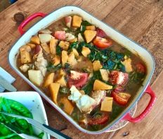 Iranian vegetable stew